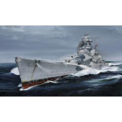 Alemán crucero Almirante Hipper 1940 . Escala: 1:700. Marca: Trumpeter. Ref: 05775.