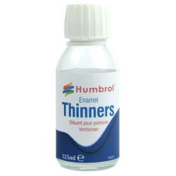 Enamel thinner ( Diluyente esmalte ). Bote 125 ml. Marca Humbrol. Ref: AC7430.