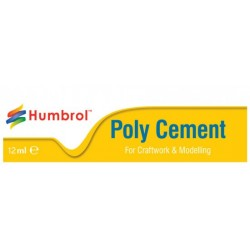 Pegamento Poly Cement Medium. Tubo 12ml. Marca Humbrol. Ref: AE4021.