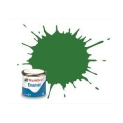 Verde medio satinado ( 131 ). Bote 14 ml. Marca Humbrol. Ref: AA1448.