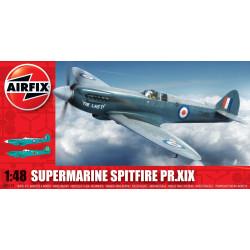 Caza Supermarine Spitfire PRXIX. Escala 1:48. Marca Airfix. Ref: A05119.