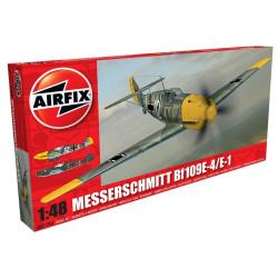 Caza Messerschmitt Bf 109E-4/E-1. Escala 1:48. Marca Airfix. Ref: A05120A.