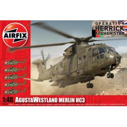 AgustaWestland Merlin HC3. Escala 1:48. Marca Airfix. Ref: A14101.