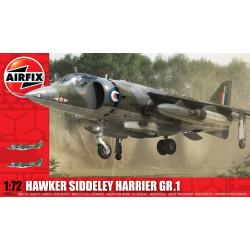 Avión Hawker Siddeley Harrier GR1. Escala 1:72. Marca Airfix. Ref: A03003.