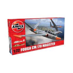 Caza Fouga cm.70 Magister. Escala 1:72. Marca Airfix. Ref: A03050.
