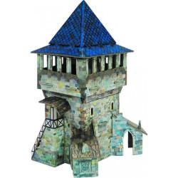 Torre Alta. Puzzle 3D de Montaje. Serie Medieval. Marca Clever Paper. Ref: 142421.