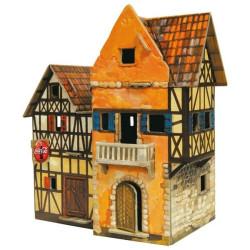 Panaderia. Puzzle 3D de Montaje. Serie Medieval. Marca Clever Paper. Ref: 142431.