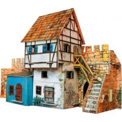 Casa Muralla. Puzzle 3D de Montaje. Serie Medieval. Marca Clever Paper. Ref: 14250.