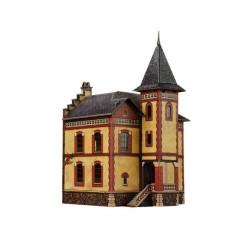 Villa Vllemomble. Puzzle 3D de Montaje. Serie de construcciones populares. Marca Clever Paper. Ref: 14318.
