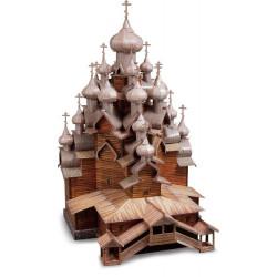 Iglesia de la Transfiguración ( Rusia ). Puzzle 3D de Montaje. Serie de edificios históricos. Marca Clever Paper. Ref: 14151.