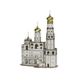 Campanario de Ivan el Grande ( Rusia ). Puzzle 3D de Montaje. Serie de edificios históricos. Marca Clever Paper. Ref: 14326.