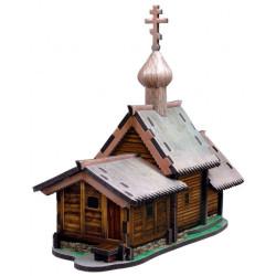 Iglesia de la Resurrección de Lázaro. Puzzle 3D de Montaje. Serie de edificios históricos. Marca Clever Paper. Ref: 14179.