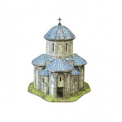 Iglesia de Kvetera( Georgia ). Puzzle 3D de Montaje. Serie de edificios históricos. Marca Clever Paper. Ref: 14323.