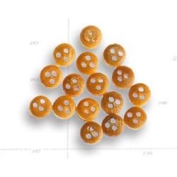 Vigota de Boj, diametro 4 mm ( 18 uds. ). Marca Artesania latina. Ref: 8503.