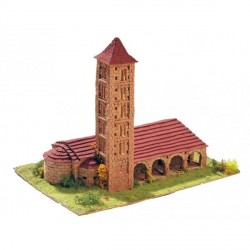 Iglesia de Santa Eulalia de Erill la Vall. Escala 1:100. Marca Keranova. Ref: 30106.
