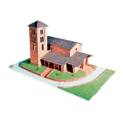Iglesia de San Joan de Caselles. Serie de edificios históricos. Escala 1:60. Marca Keranova. Ref: 30112.