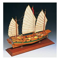Junco pirata chino. Escala 1:100. Marca Amati. Ref: 1421.