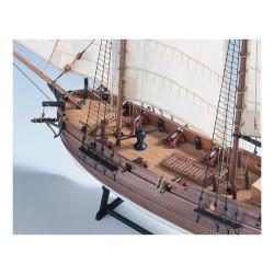 """Barco pirata """" Adventure """". Escala 1:60. Marca Amati. Ref: 1446."""