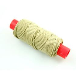 Hilo crudo de algodón diámetro 1.30 mm ( 20 m ). Marca Amati. Ref: 412413.