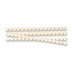 Enjaretado de haya de 60 x 60 mm  ( 30 uds. ).  Marca Artesanía Latina. Ref: 8559.