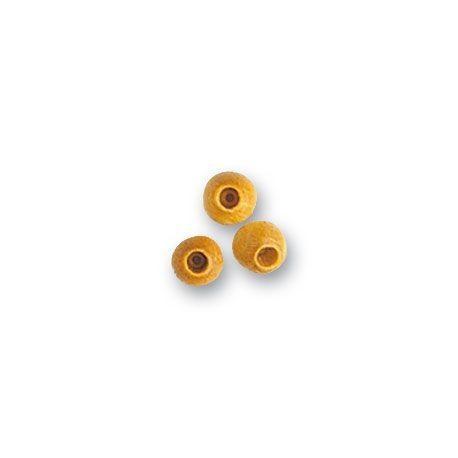 Galleta de boj, diámetro 5 mm  ( 4 uds. ).  Marca Artesanía Latina. Ref: 8562.
