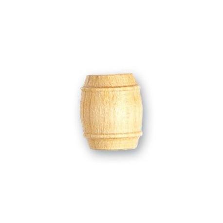 Barril de boj, diámetro 12 mm  ( 4 uds. ).  Marca Artesanía Latina. Ref: 8566.