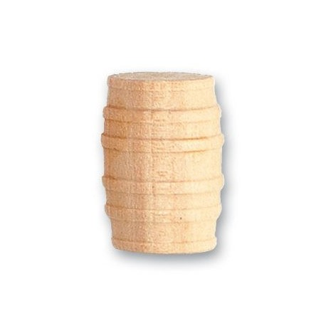 Barril de boj, diámetro 15 mm  ( 3 uds. ).  Marca Artesanía Latina. Ref: 8567.