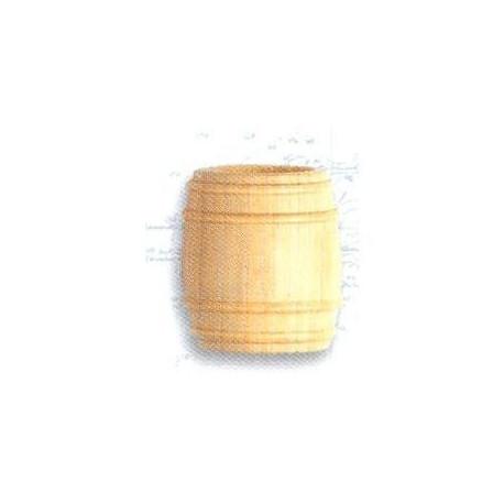 Barril de boj, diámetro 18 mm  ( 2 uds. ).  Marca Artesanía Latina. Ref: 8568.