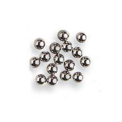 Balas de cañón en metal diámetro 3 mm ( 100 uds ). Marca Artesanía Latina. Ref: 8660.