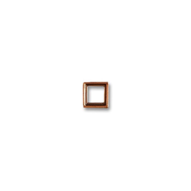 Marco tronera 7 x 7 mm ( 6 uds ). Marca Artesanía Latina. Ref: 8718.