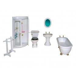 Mobiliario Baño con ducha. Marca Chaves. Ref: 36128.