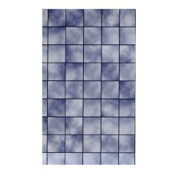 Papel baldosa marmol azul. Marca Jackson's. Ref: 36817.