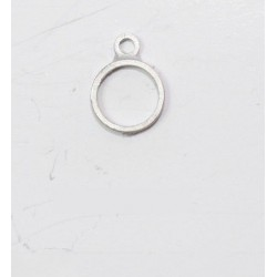 Anillas o zuncho de metal diámetro 6 mm, (4 uds ). Marca Disarmodel. Ref: 20036.