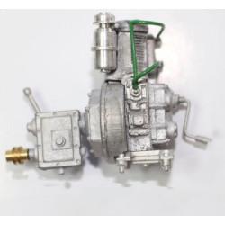 Motor diesel metalico. Marca Disarmodel. Ref: 20030.