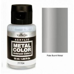 Acrilico Metal color, Metal quemado. Bote 32 ml. Marca Vallejo. Ref: 77704.