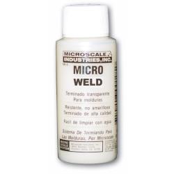 Micro weld, adhesivo de polistireno, MI-6. Marca Microscale. Ref: 64006.