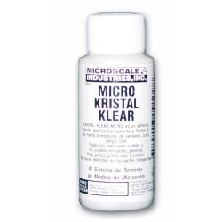 Micro kristal klear, Adhesivo piezas transparentes, MI-9. Marca Microscale. Ref: 64009.