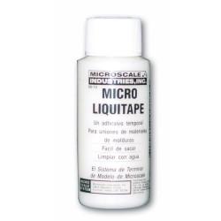 Micro liquitape, Adhesivo reversible, MI-10. Marca Microscale. Ref: 64010.