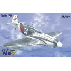 Set avión Yakovlev Yak 7B. Escala 1:72. Marca Valom. Ref: 72018.