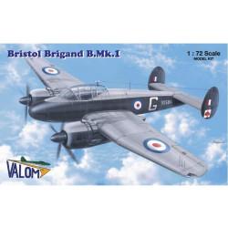 Set avión Bristol Brigand B.MKI. Escala 1:72. Marca Valom. Ref: 72030.