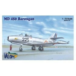 Set avión Dassault Barougan. Escala 1:72. Marca Valom. Ref: 72074.