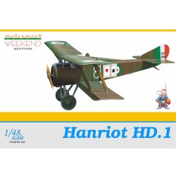 Monoplaza Hanriot HD.1. Escala 1:48. Marca Eduard Ref: 8412.