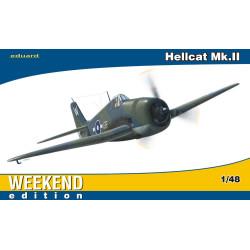Caza Hellcat MK.II. Escala 1:48. Marca Eduard. Ref: 84134.