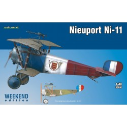 Biplano Nieuport Ni-11. Escala 1:48. Marca Eduard Ref: 8422.