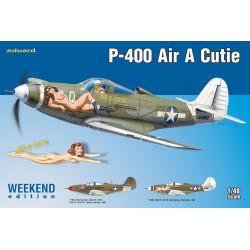 P-400 Air A Cutie. Escala 1:48. Marca Eduard. Ref: 8472.
