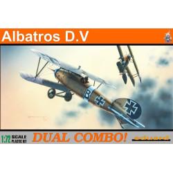 Caza Albatros D.V Dual combo. Escala 1:72. Marca Eduard. Ref: 7021.