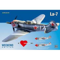 Caza Lavochkin La-7, WWII. Escala 1:72. Marca Eduard. Ref: 7425.