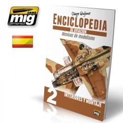 Enciclopedia Técnica Modelismo de Aviación 2, interiores y montaje. Marca Acción Press. Ref: AMMO-EN_AV_2.