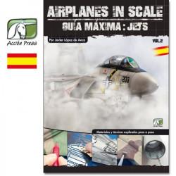 Libro Airplane in scale 2, máxima guia: jets. Marca Acción Press. Ref: GM-AS2-ES.
