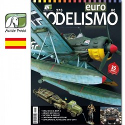 Revista Euro Modelismo 273. Marca Acción Press. Ref: EM-0273.